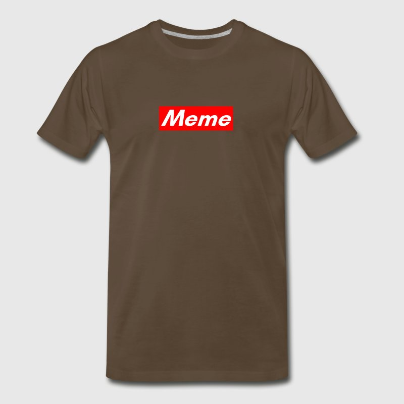 Meme Box Logo - Men's Premium T-Shirt