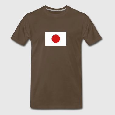 National Flag Of Japan - Men's Premium T-Shirt
