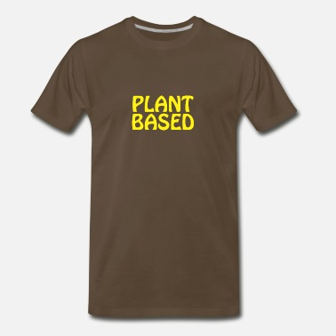 Plant Based Plant Based 3 - Men's Premium T-Shirt