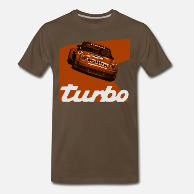 Nurburgring orange machine - Men's Premium T-Shirt