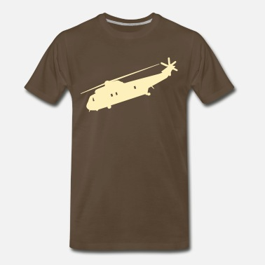 Military Helicopters Cool Military helicopter Flex Graphic - Men's Premium T-Shirt