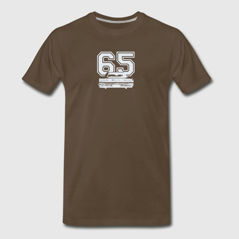 1965 CHEVY IMPALA SS - Men's Premium T-Shirt