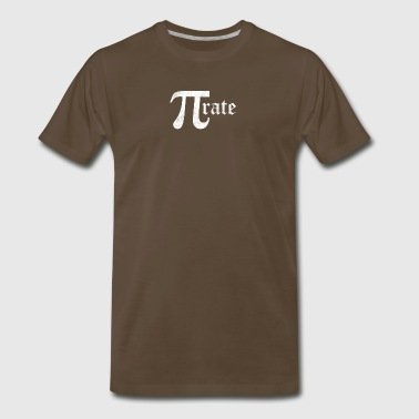 Pirate Pi Math - Men's Premium T-Shirt