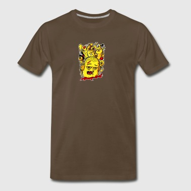 Lotta stuff on my mind - Men's Premium T-Shirt