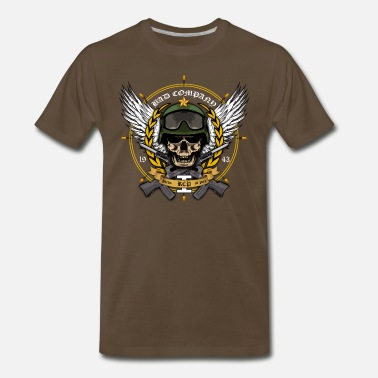 Army Transportation bad company - Men's Premium T-Shirt