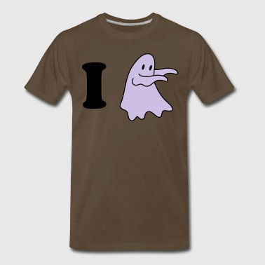 i heart love ghosts - Men's Premium T-Shirt