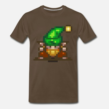 Bearded Gnome Secret of Mana - Gnome - Men's Premium T-Shirt