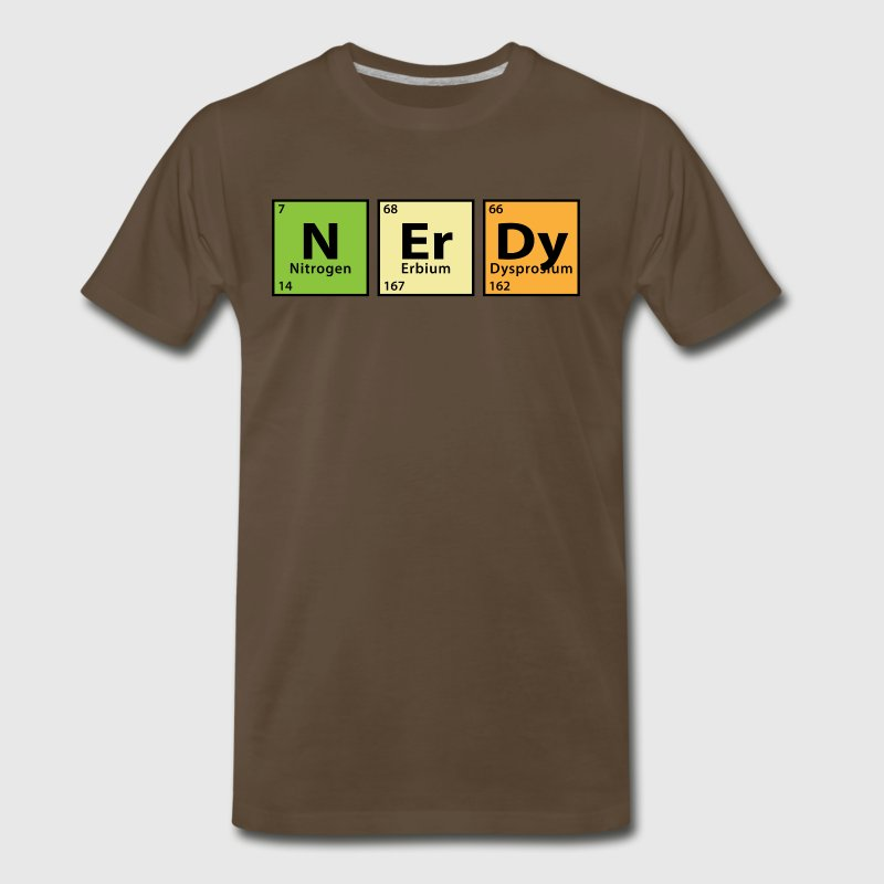 Periodic Table Nerdy - Men's Premium T-Shirt