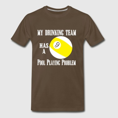 05 my drinking team - Men's Premium T-Shirt