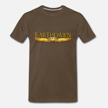 Earthdawn Earthdawn Wings Logo Thermal Mug - Men's Premium T-Shirt