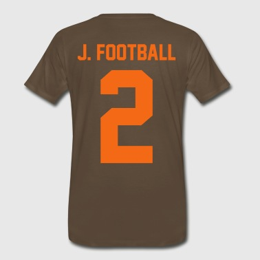 J Football - Men's Premium T-Shirt