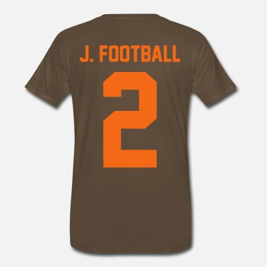 J Dilla J Football - Men's Premium T-Shirt