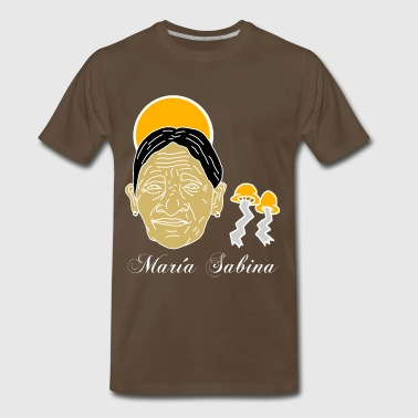 Maria Sabina (The Origins of Religion) - Men's Premium T-Shirt