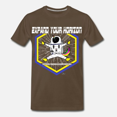 Horizon Stupid Unicorn Activities Expand Your Horizon - Men's Premium T-Shirt