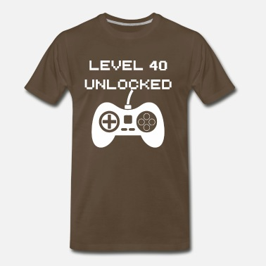Level Level 40 Unlocked - Men's Premium T-Shirt