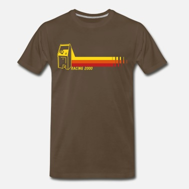 Retro Racing2000 - Men's Premium T-Shirt