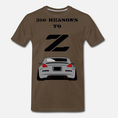 350z 350 RESONS TO Z - Men's Premium T-Shirt