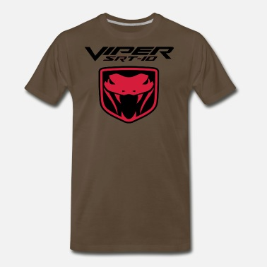 Dodge Viper VIPER SRT10 LOGO - Men's Premium T-Shirt