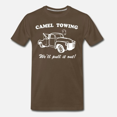 Camel Hump Camel Towing We'll Pull It Out! - Men's Premium T-Shirt