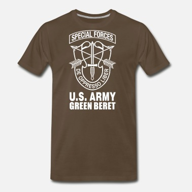 Special Forces US Army Green Beret Special Forces - Men's Premium T-Shirt