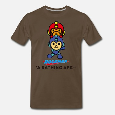 Surpreme Bape x Rockman Limited Edtion - Men's Premium T-Shirt