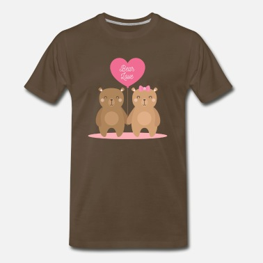 Love Bears Bear Love - Men's Premium T-Shirt