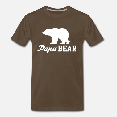 New Papa Bear - Men's Premium T-Shirt