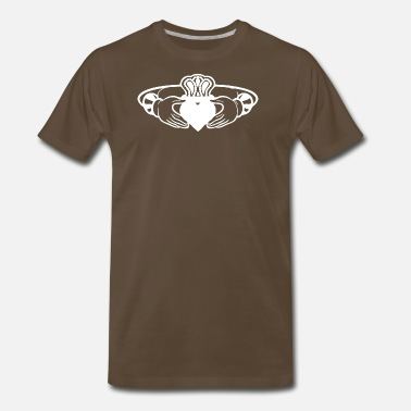 Claddagh CLADDAGH RING - Men's Premium T-Shirt