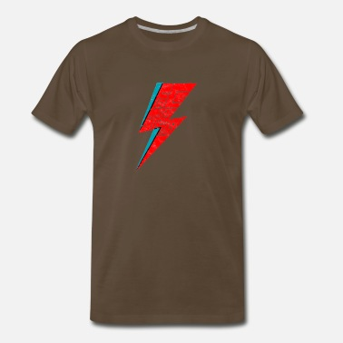 Strange Face bowie face the strange - Men's Premium T-Shirt