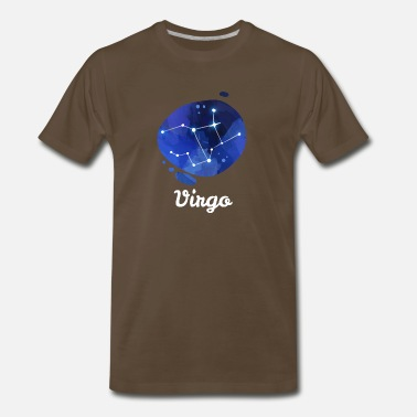 Constellation Virgo Constellations Zodiac Sign Horoscope Gift - Men's Premium T-Shirt