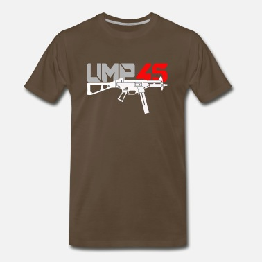 Submachine Gun Sub Machine Gun UMP45 - Men's Premium T-Shirt