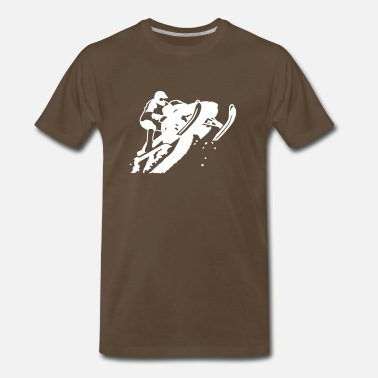 Snowmobile snowmobile - Men's Premium T-Shirt