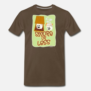 Funny Smores Smore or Less - Men's Premium T-Shirt