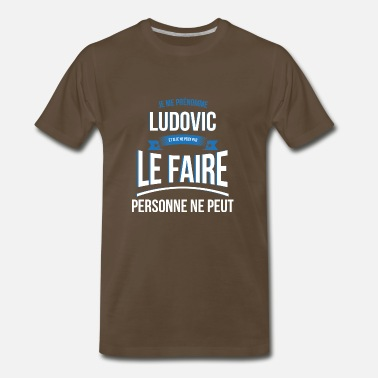 Ludovic Ludovic nobody can gift - Men's Premium T-Shirt
