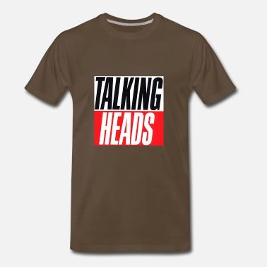 Talking Talking Heads merch - Men's Premium T-Shirt