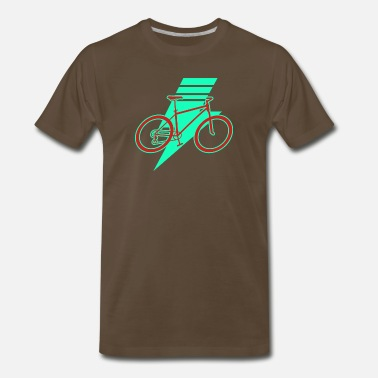E Bike E-Bike - Men's Premium T-Shirt