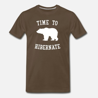 Time To Hibernate - Men's Premium T-Shirt