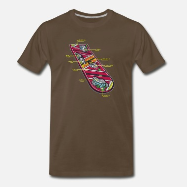Hoverboard Anatomy of a Hoverboard - Men's Premium T-Shirt