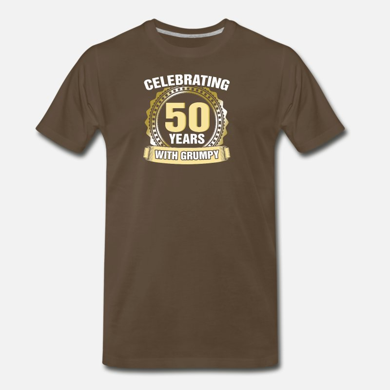 Funny 50th Birthday Gifts Mens Premium T Shirt