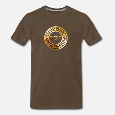 e58170a1 Sort by. RelevanceNewest. Versace gold_mixes_logo - Men's Premium T-Shirt