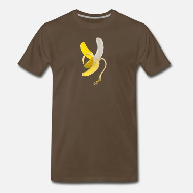 Peel Peeled Banana - Men's Premium T-Shirt