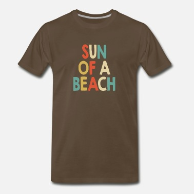 Umbrella Sun of a beach - Men's Premium T-Shirt