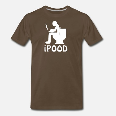 Ipood IPood Toilet - Men's Premium T-Shirt