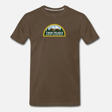 Peak TWIN PEAKS - Men's Premium T-Shirt