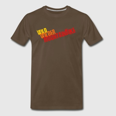 Wild, wilder, Mountainbike - Men's Premium T-Shirt