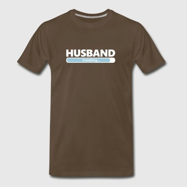 Installing Husband (1064) - Men's Premium T-Shirt