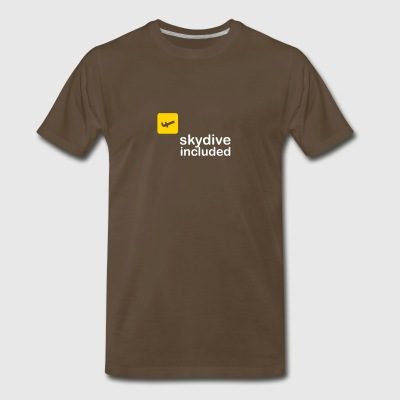 Skydive Included! - Men's Premium T-Shirt