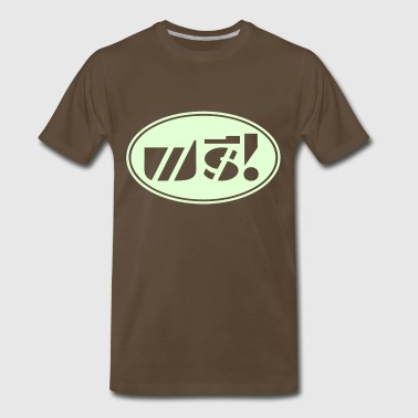 Free / Thai Language Script - Men's Premium T-Shirt
