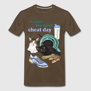 Fit cats - Men's Premium T-Shirt