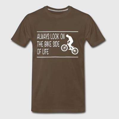 Bike side: BMX - Men's Premium T-Shirt